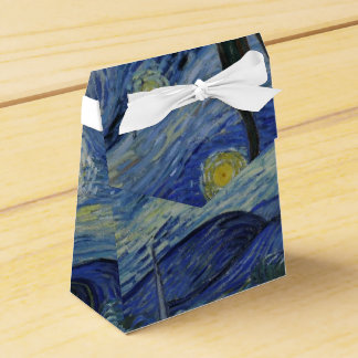Noche estrellada de Vincent van Gogh Caja Para Regalos De Fiestas