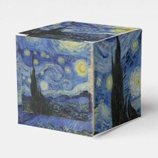 Noche estrellada de Vincent van Gogh Caja Para Regalos