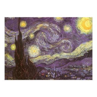 Noche estrellada de Vincent van Gogh fiesta de cu Anuncio