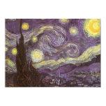 Noche estrellada de Vincent van Gogh, fiesta de Anuncio