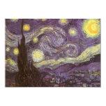 Noche estrellada de Vincent van Gogh, fiesta de Invitacion Personalizada