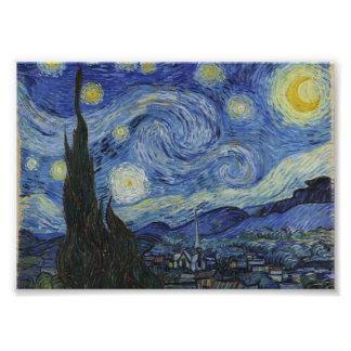 Noche estrellada de Vincent van Gogh Fotografías