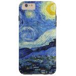Noche estrellada de Vincent van Gogh Funda De iPhone 6 Plus Tough