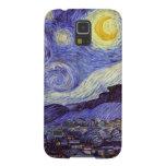 Noche estrellada de Vincent van Gogh Fundas Para Galaxy S5