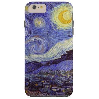 Noche estrellada de Vincent van Gogh Funda Para iPhone 6 Plus Tough