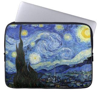 Noche estrellada de Vincent van Gogh Fundas Portátiles