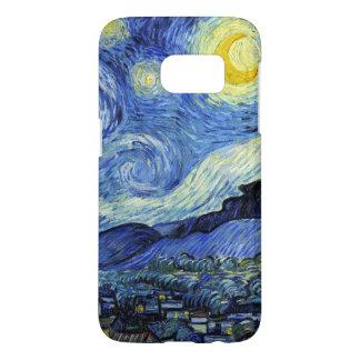 Noche estrellada de Vincent van Gogh Fundas Samsung Galaxy S7