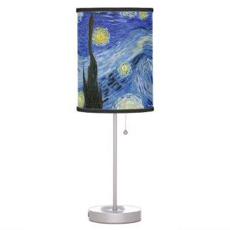Noche estrellada de Vincent van Gogh Lámpara De Mesa