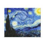 Noche estrellada de Vincent van Gogh Impresion En Lona