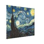 Noche estrellada de Vincent van Gogh Lona Estirada Galerías
