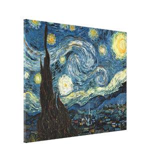 Noche estrellada de Vincent van Gogh Impresion De Lienzo