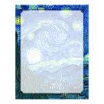 noche estrellada de Vincent van Gogh Membretes Personalizados