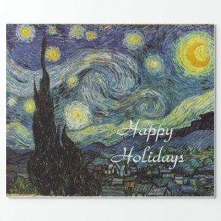 Noche estrellada de Vincent van Gogh.