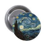 Noche estrellada de Vincent van Gogh Pin