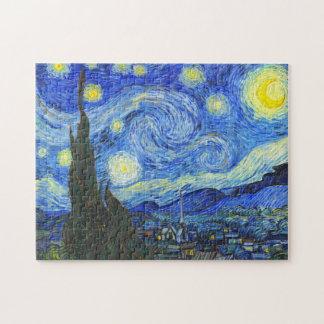 Noche estrellada de Vincent van Gogh Puzzles