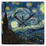 Noche estrellada de Vincent van Gogh Reloj