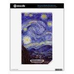 Noche estrellada de Vincent van Gogh NOOK Color Skins