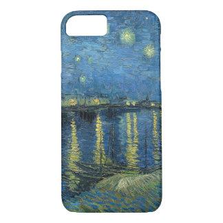 Noche estrellada de Vincent van Gogh sobre el Funda iPhone 7