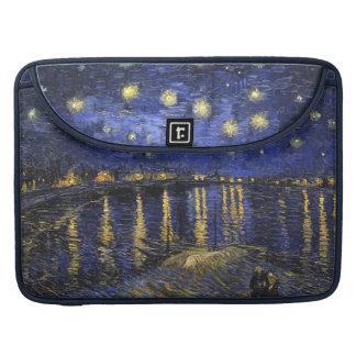 Noche estrellada de Vincent van Gogh sobre el Funda Macbook Pro