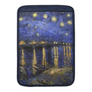 Noche estrellada de Vincent van Gogh sobre el Fundas Macbook Air