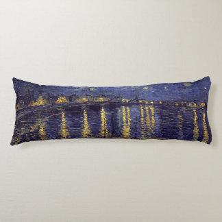 Noche estrellada de Vincent van Gogh sobre el Almohada Larga