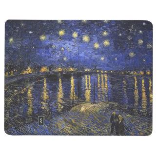 Noche estrellada de Vincent van Gogh sobre el Rhon Cuadernos Grapados