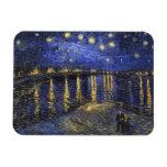 Noche estrellada de Vincent van Gogh sobre el Rhon Iman