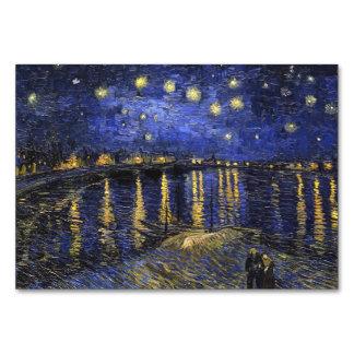 Noche estrellada de Vincent van Gogh sobre el Rhon