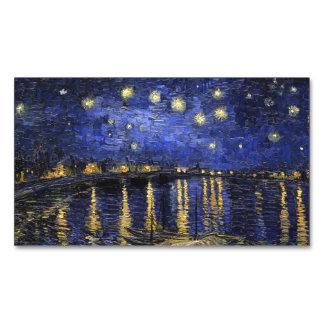 Noche estrellada de Vincent van Gogh sobre el