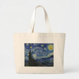 Noche estrellada de Vincent van Gogh sobre la pint Bolsa