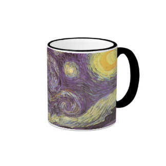 Noche estrellada de Vincent van Gogh Taza