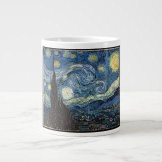 Noche estrellada de Vincent van Gogh Taza Grande