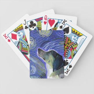 Noche estrellada estrellada de Mia- Baraja Cartas De Poker
