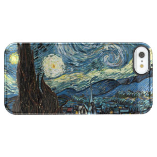 Noche estrellada funda clearly™ deflector para iPhone 5 de uncommon
