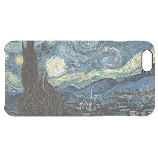 Noche estrellada funda clearly™ deflector para iPhone 6 plus de unc