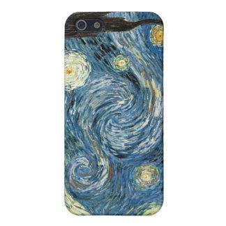 Noche estrellada iPhone 5 funda