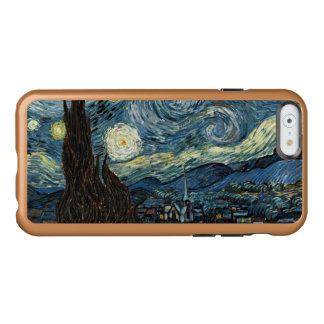 Noche estrellada funda para iPhone 6 plus incipio feather shine