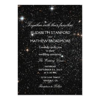 """Noche estrellada invitación 5"""" x 7"""""""