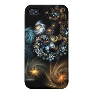 Noche estrellada iPhone 4 funda