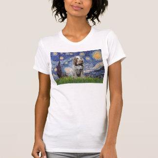 Noche estrellada - italiano Spinone (melado) Camisas