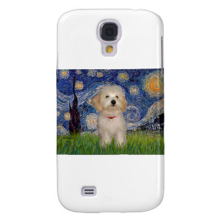 Noche estrellada - perrito de Havanese