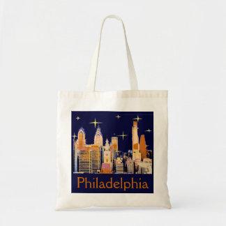 Noche estrellada Philadelphia Bolsas Lienzo