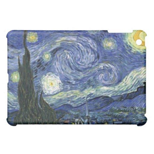 Noche estrellada por los casos del iPad de Vincent