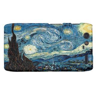 Noche estrellada por Van Gogh - Motorola Droid Motorola Droid RAZR Carcasa