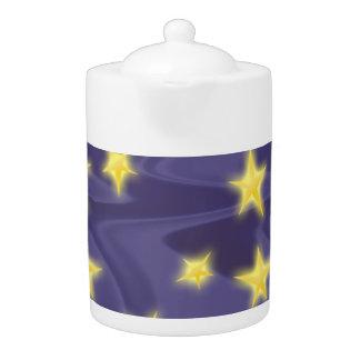 Noche estrellada púrpura; Modelo de estrellas amar