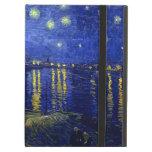 Noche estrellada Rhone de Van Gogh