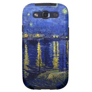 Noche estrellada Rhone de Van Gogh Galaxy SIII Funda