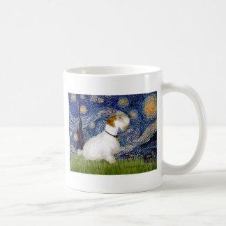 Noche estrellada - Sealyham Terrier (l) Taza De Café