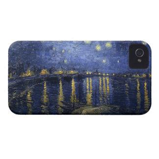 Noche estrellada sobre de Rhone el iPhone 4 apenas iPhone 4 Cobertura