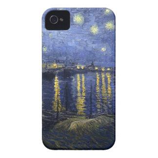 Noche estrellada sobre el caso del iPhone 4/4s de  iPhone 4 Cárcasas